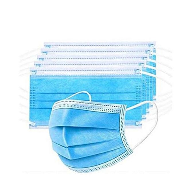 Generic Disposable 3-ply Face Mask - 50PCs