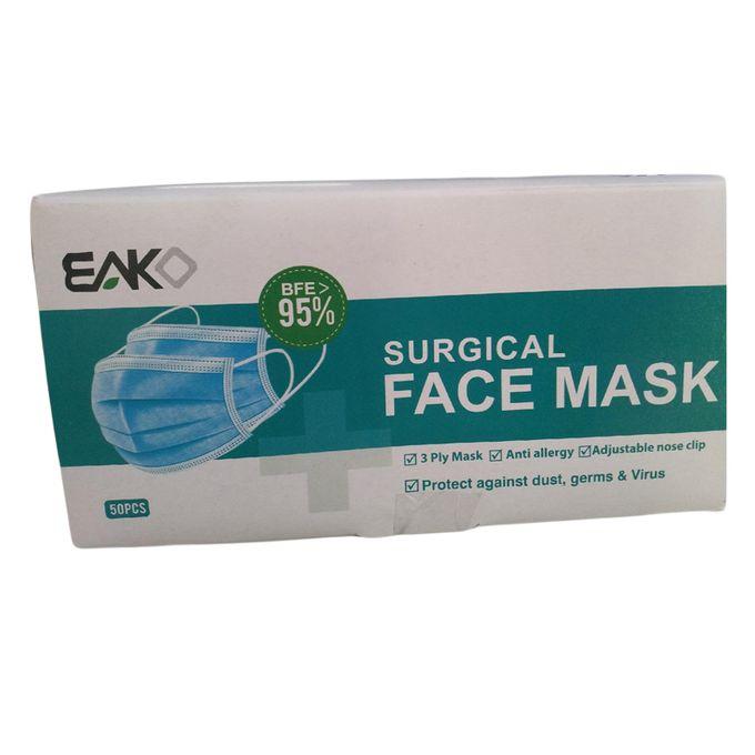 Eako 3 Ply Surgical Face Mask - 50PCs