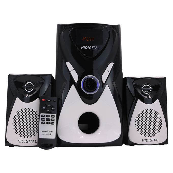 HiDigital HD-480 2.1CH 10000W PMPO SOUND SYSTEM BT/SD/FM/USB