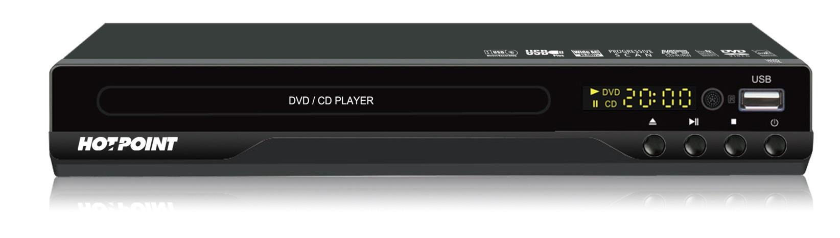 Von H104/VEV104DAA DVD Player - USB, COMPACT