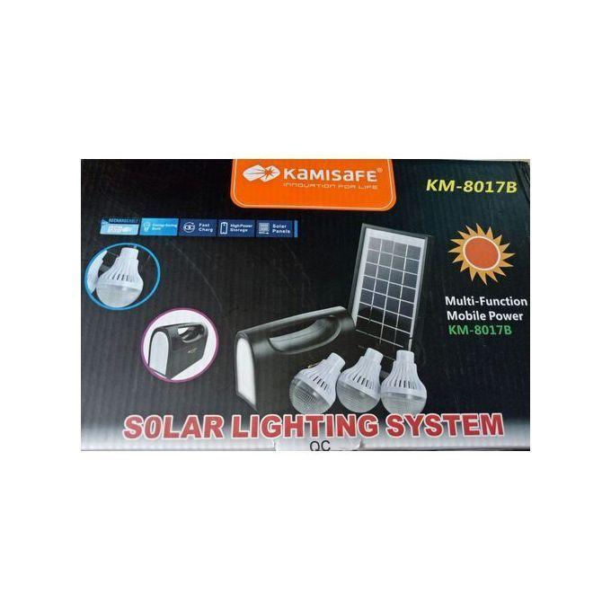 Kamisafe Solar Lighting System Kamisafe KM-8017
