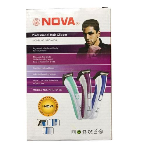 Nova Electric Rechargeable Hair Shaver & Beard Trimmer