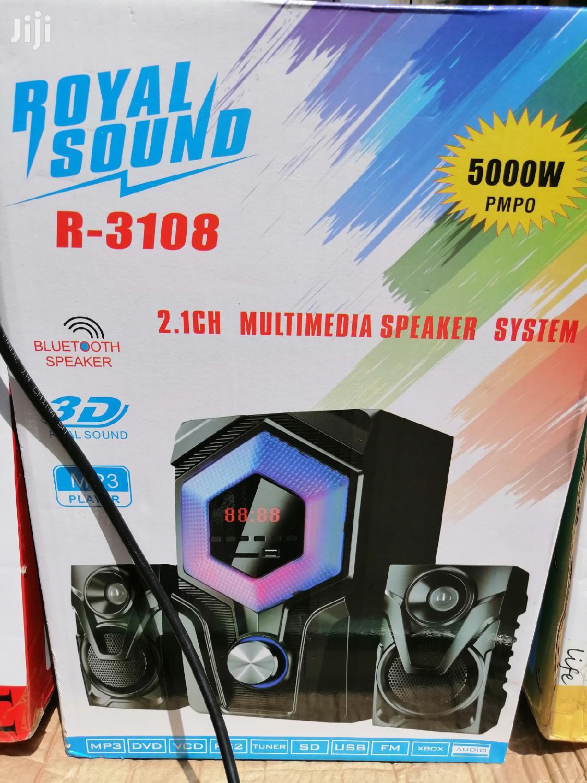 Royal Sound R-3108 SUB WOOFER MULTIMEDIA-BLUETOOTH/FM/USB-5,000Watts