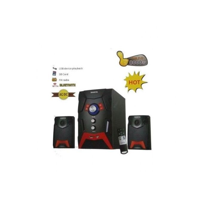 Sanya SY 103BT; 8000Wts, Sub Woofer -BT/usb/sd/FM