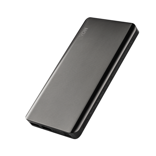 Von VXP102SAK Power Bank 2 USB Ports, 10,000mAh - Black