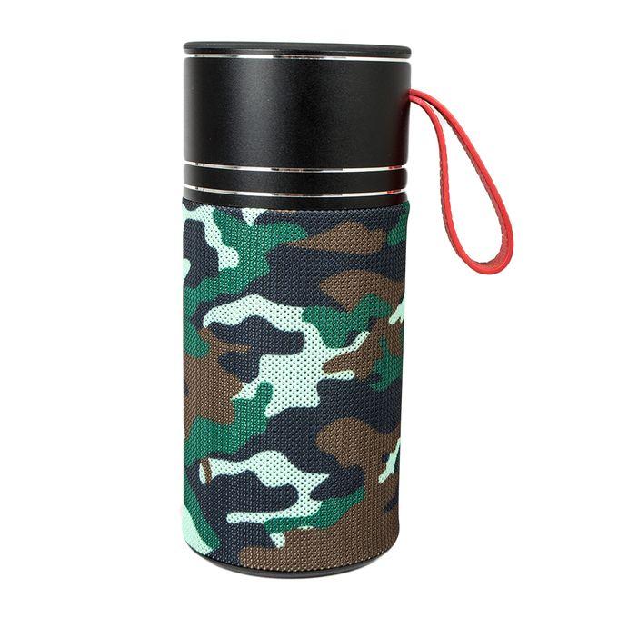 Wster WS-1851 Portable Bluetooth Speaker Camo Green