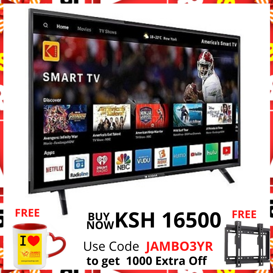 Royal 32 Inch Smart TVs Android LED TV Television,Black