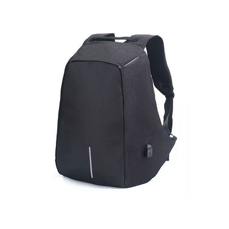 Anti-Theft Backpack Water Repellent Design USB Port XD Bobby Travel School Bag(Color:Black)