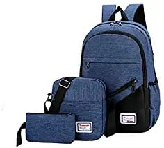 3 in 1 Anti Theft Bags Durable Blue