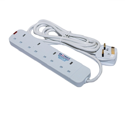 RK Trust 4-Way Extension Cable Fused white