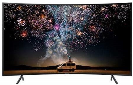 Samsung 65 INCH 65RU7300 Curved Smart 4K UHD TV - Black