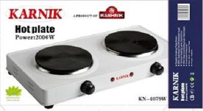 Karnik Double Hot Plate Electric Burner