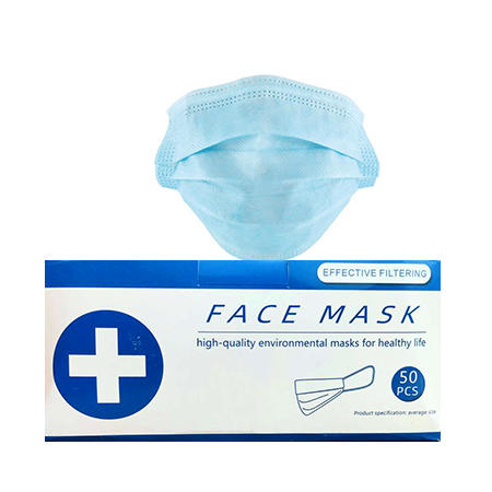 3 Ply Face Mask- 50 pieces
