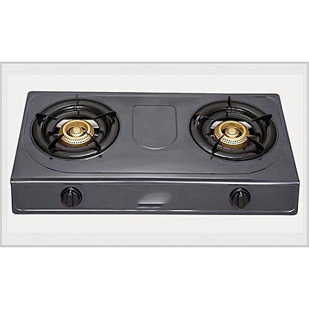 2 Burner Gas Cooker- Stainless Steel