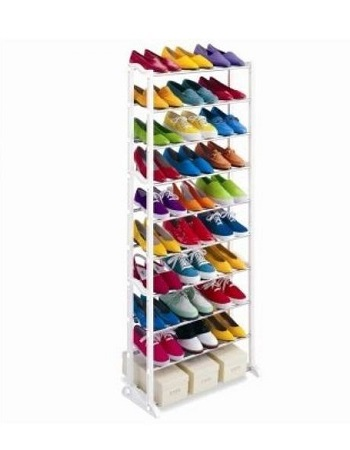Amazing Shoe Rack Portbale with 10 Layers for 30 Pairs