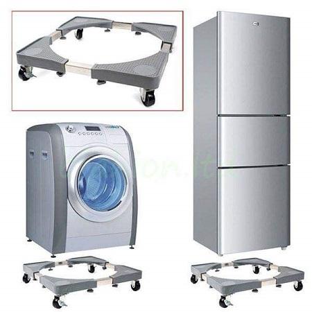 Heavy Appliance Base Trolley Washing Machine Stand Fridge Base