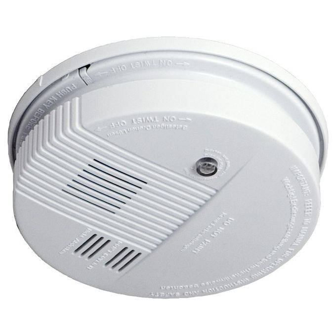 Botric photoelectric smoke detector fire alarm detector for home office Security