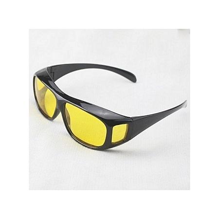 Car Night Vision Glasses Night Driving Glasses UV400 HD- Black