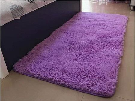 Fluffy Bedside Carpet