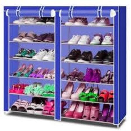 Portable shoe rack 36 pairs