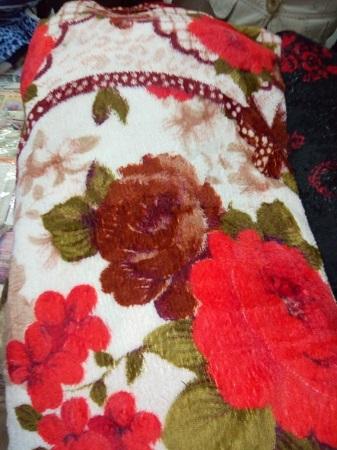 Multi-coloured Soft Blanket
