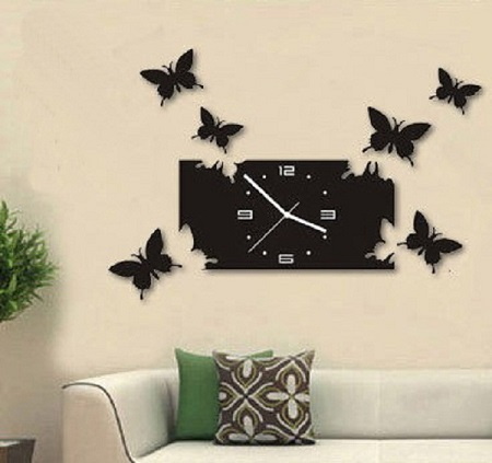 DIY Wall Clock For Home Decor
