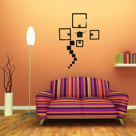 DIY Wall Clock For Home Decor