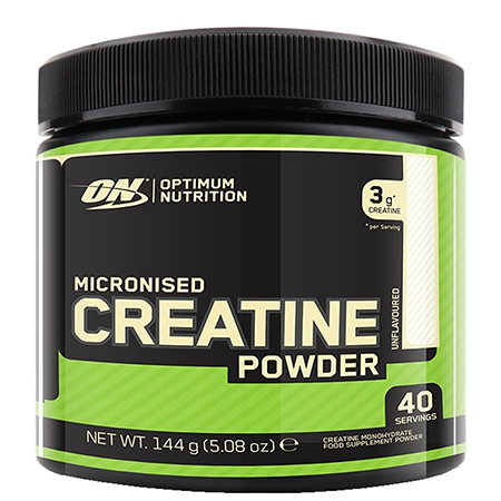 Optimum Nutrition Micronised Creatine Powder, Unflavoured Monohydrate Powder for Muscle Growth
