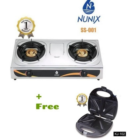 Table Top Gas Cooker Plus Free Toaster