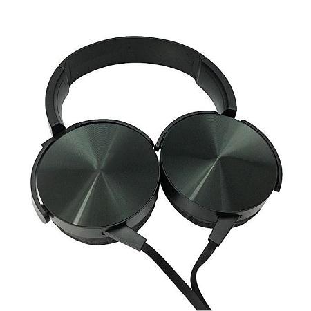 Extra Bass Headphones Headsets Black