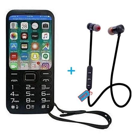 SQ 20,000mAh Battery - BT Music - Powerbank + Free Wireless Bluetooth Earphones