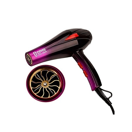 Bopai Bopai 4000W Blow Dry Hair Dryer - Black & Purple