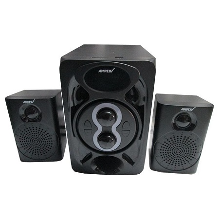 Ampex SUBWOOFER-SPEAKER SYSTEM BLUETOOTH,FM USB -BLACK