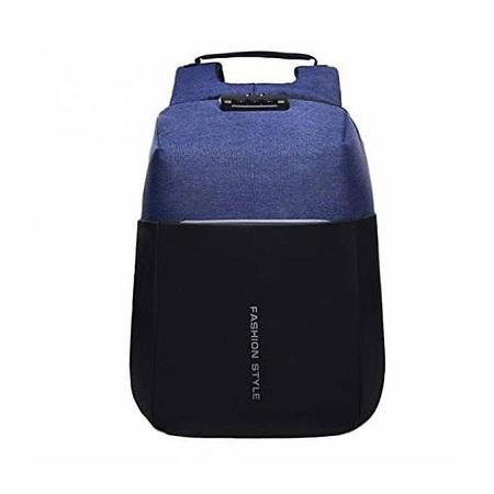 Fashion AntiTheft Backpack With USB Charging Port