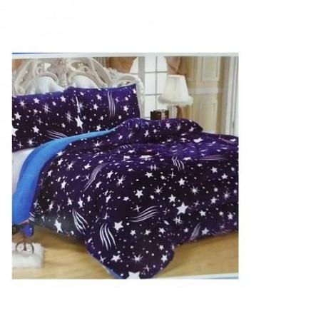 Multicolor Duvet Set:- Duvet, Bedsheet,2 Pillowcases