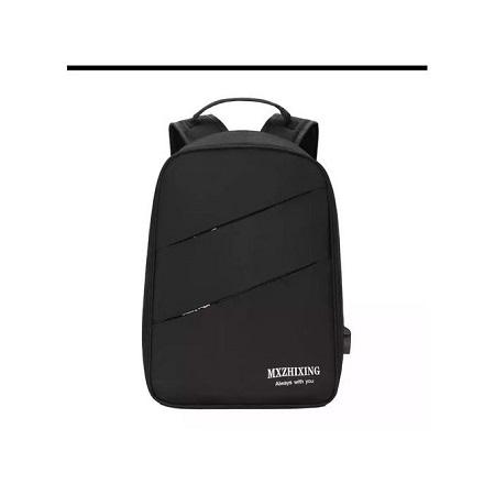 Fashion Bokun Antitheft Bags With USB Charging Port - Black