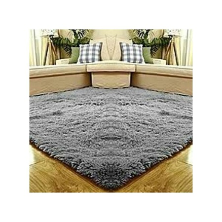 Fluffy carpets-5*8-Grey