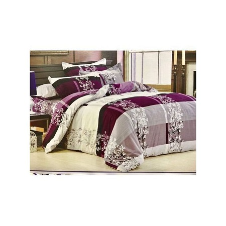 4PC Duvet Set - 6x6 - Multicolored