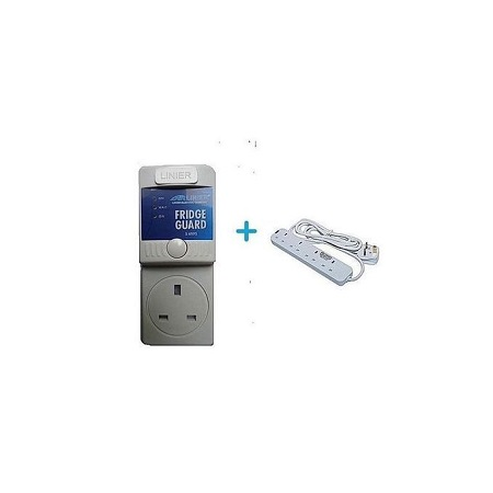 MK Fridge Guard With Free 4 Way Power Extension