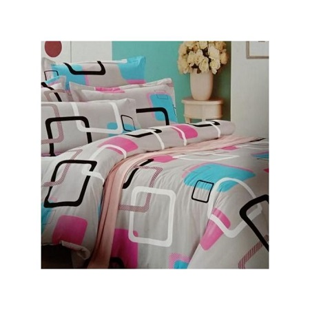 4PC Duvet Set - 6x6 - Multicolor