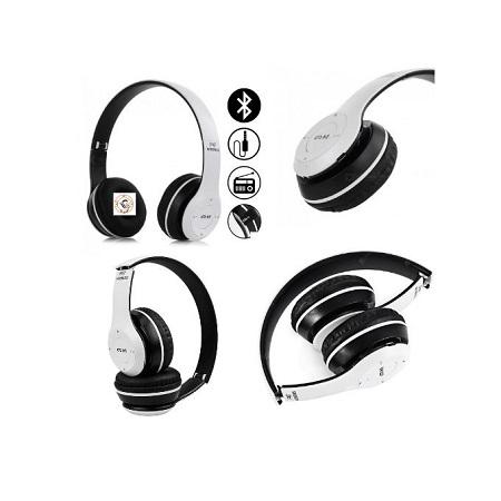 P47 Foldable Bluetooth 5.0 Wireless Headphone MP3 FM