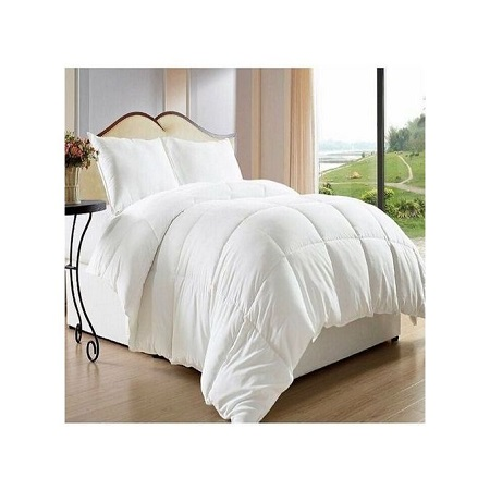 Pure White Duvet +1 bed sheet & 2 Pillow Cases