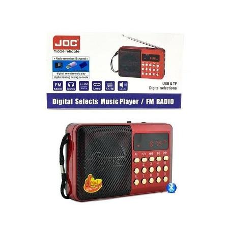 Joc Digital FM Radio And Mp3 Music Player