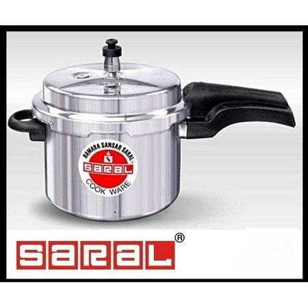 Saral Aluminium Pressure Cooker - Explosion Proof
