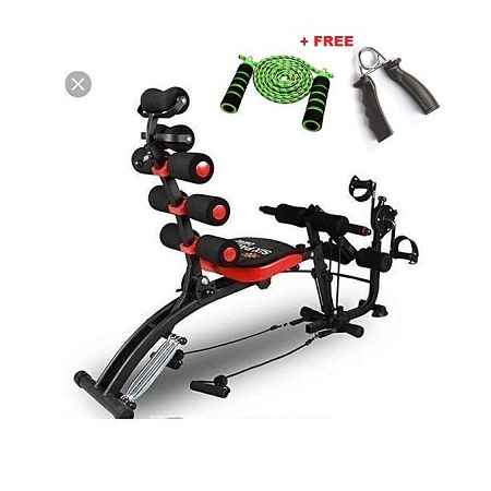 Six Pack Care ABS Fitness Machine +Pedals+skipping rope+handgrip