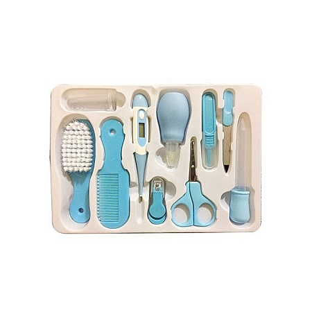 Baby Grooming Nursery Healthy Kit - Blue