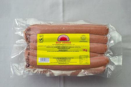 Beef Viennas - Ex-long | 1kg