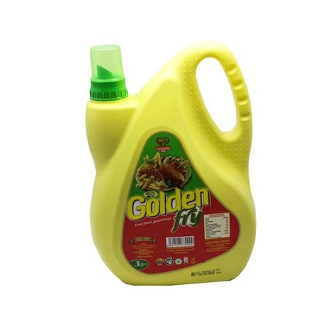Golden Fry Pure Vegetable Cooking Oil - 3 Litres