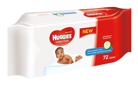 Huggies Baby Wipes | 64's