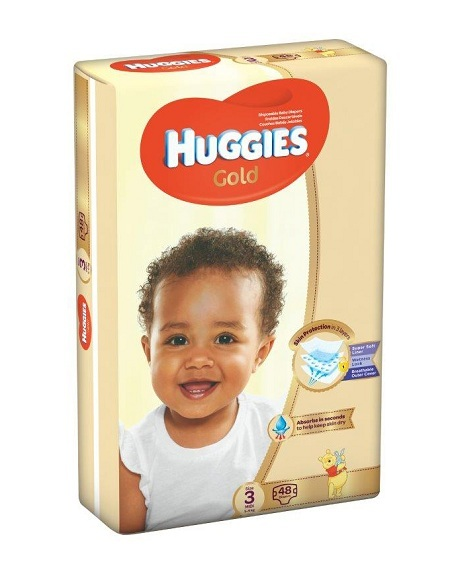 Huggies Gold Size 3 diapers (5-8kgs) | 48pcs